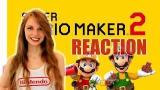 REACTION: MARIO MAKER 2 NINTENDO DIRECT