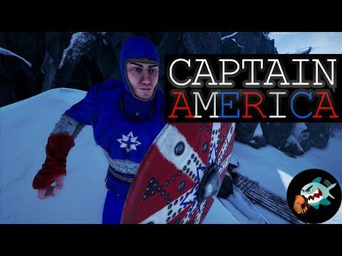 Mordhau - Captain America