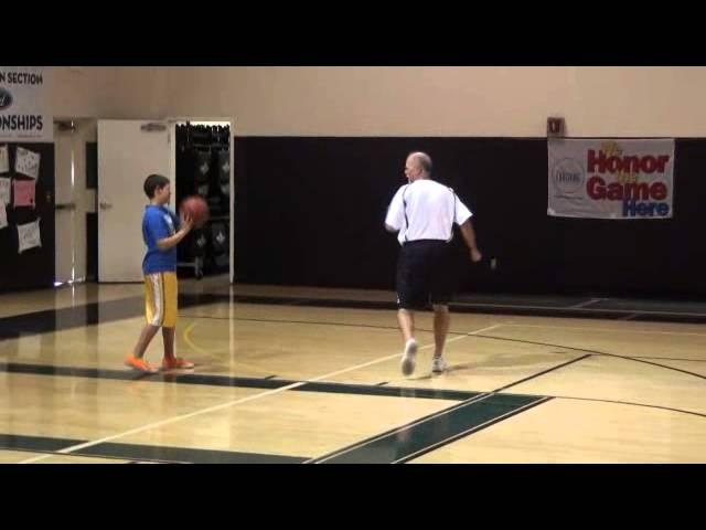 Close-Out Stick Drill