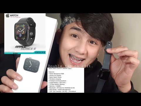 Unboxing apple watch ⌚ series 5