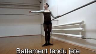 Классический танец. Экзерсис у станка (1-ая часть) Body-ballet Боди-балет