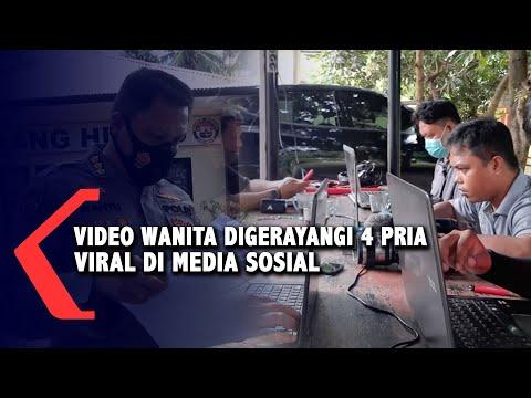Pelaku Perekam Video Seorang Wanita Digerayangi 4 Pria Yang Viral Di Medsos adalah Oknum Polisi