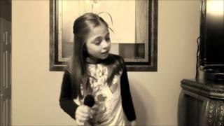 Genesis singing Just a Dream by Carrie Underwood