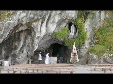 Chapelet à Lourdes du 15 mars 2020
