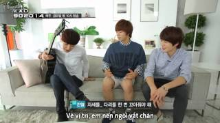 [Vietsub] 140818 EXO 90:2014 - Chanyeol @ 'HOPE' MV Remake BTS (Part 2)