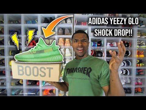 Adidas Yeezy Boost 350 V2 Glow SHOCK DROP!!!