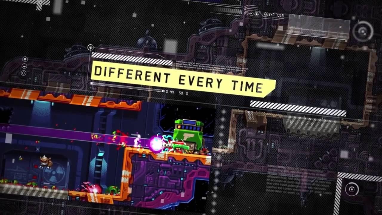 El brutal juego de plataformas arcade Super Mutant Alien Assault llega este verano a PS4