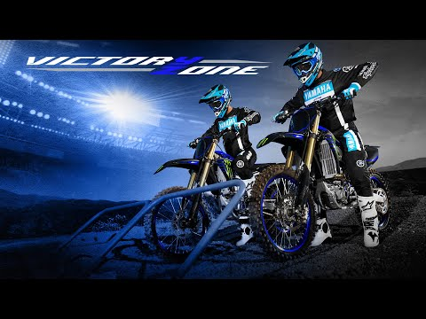 2021 Yamaha YZ250F Monster Energy Yamaha Racing Edition in Merced, California - Video 1