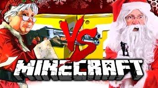 Minecraft | CHRISTMAS LUCKY BLOCK CHALLENGE | SANTA WITH A GUN?!