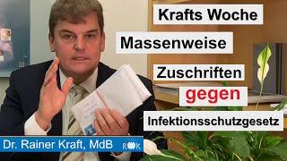 Krafts Woche: Infektionsschutzgesetz gegen unseren Widerstand verabschiedet!