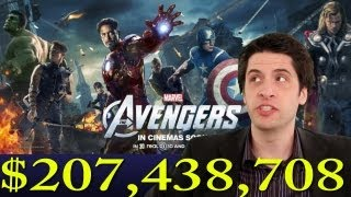 The Avengers Breaks $200 million!