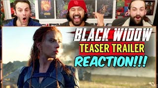 BLACK WIDOW   Teaser TRAILER - REACTION!!!