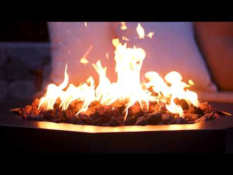 Alpine Flame 42-Inch Octagon Fire Pit - Oil Rubbed Bronze