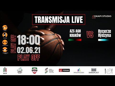 Wideo1: Transmisja TV: 2LM Play Off AZS AGH Kraków - Rycerze Rydzyna - ostatni mecz decydujący o awansie do 1 ligi