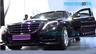 Mercedes Maybach S 600 Guard | First Look | Auto Expo 2016 | Manorama Online