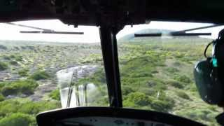Cape Town Helicopters UH-1H (Bell 205) - Low Level Maneuvers near Cape Town, South Africa