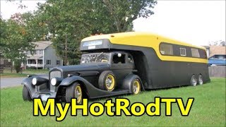 Vintage Campers - Hot Rodders on the Move