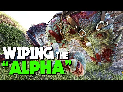 Download Wiping the alpha tribe! | VsPVP: This is ARK! | ARK: Survival Evolved | S4:EP19 HD Video