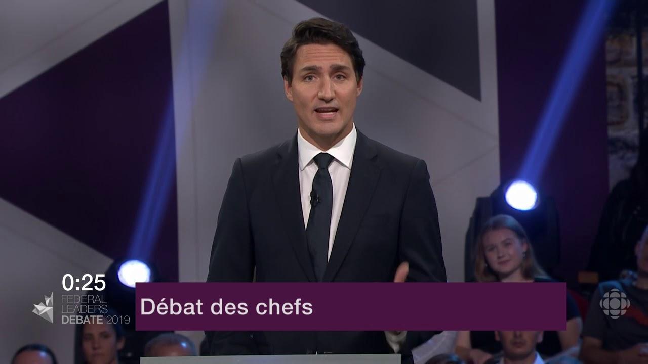 Justin Trudeau répond à la question d'un citoyen sur le Canada dans le monde