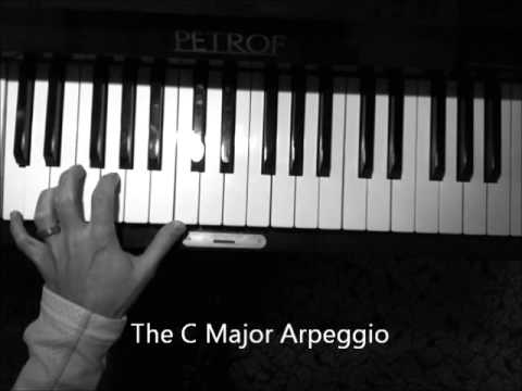 The C Major Arpeggio - piano - HOW TO PLAY