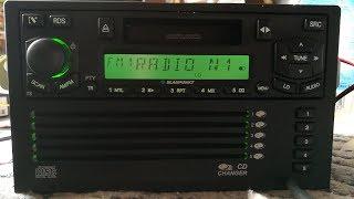 BLAUPUNKT Chevrolet Daewoo Lacetti Autoradio mit 5fach CD Wechsler & Kassette