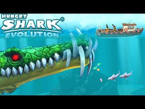 STEGOSHARK - NEW LEO SKIN UNLOCKED! || Hungry Shark Evolution [FHD-1080p]
