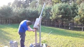 preview picture of video 'Potato gun - działo ziemniaczane - Flak 88 SPUDGUN'