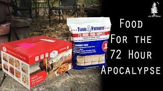 72 Hour Food Kit Comparison