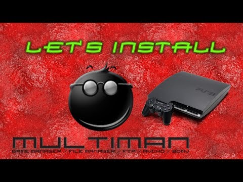 Installing And Overview Of MultiMAN On PS3 Mp3