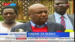 Mwenyekiti wa kamati ya bunge-seneta Gideon Moi, azungumza kuhusu uchaguzi: Leo Mashinani