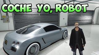 GTA 5 ONLINE YO ROBOT/COCHES DE PELICULA