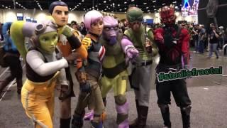 Star Wars Celebration 2017   Exhibit Hall Highlights In Orlando ( Cosplay, Lego, & Toys )