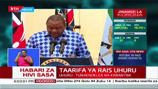 Uhuru orders 100% TAX relief for those earning Ksh 24000 and and reduction of PAYE and turnover tax
