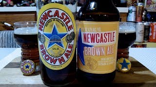 Newcastle Brown Ale Vs. Lagunitas Newcastle Brown Ale (4.7% ABV) DJs BrewTube Beer Review #1231-1232