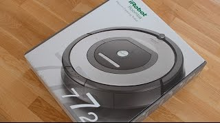 iRobot Roomba 772 772e Unboxing + First Look