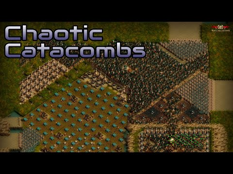 They are Billions - Chaotic Catacombs  - custom map - No pause