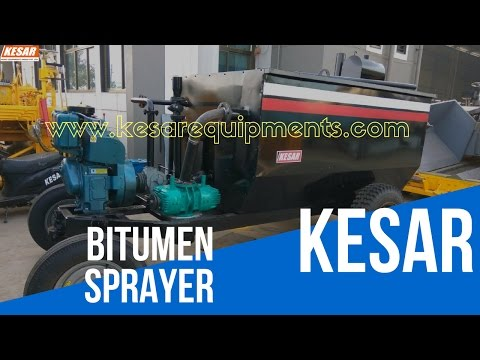 Bitumen Emulsion Sprayer Equipment