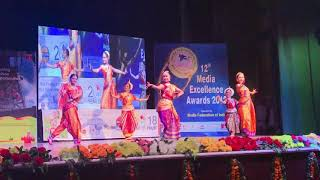 Lady Sri Ram College Girls Perform at ONGC's 12th Media Federation of India Awards 2018