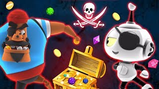 Treasure Hunt With the Pirates | Cartoons For Children | Rob The Robot | Oddbods & Friends