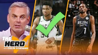 Colin picks between Giannis and other NBA stars for the next five years | NBA | THE HERD