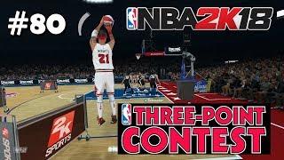 Three-Point Contest! - NBA 2K18 ITA - My Career Ep.80 - PS4 Pro HD
