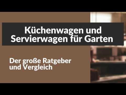 Küchenwagen und Servierwagen für den Garten