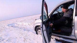 TOYOTA PRADO по глубокому снегу ! SUBARU vs HONDA vs TOYOTA