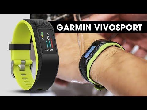 Trên tay Garmin Vivosport l Nhỏ gọn - Siêu tiện dụng cho anh em Gymer