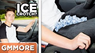 Ice Crotch Driving Technique