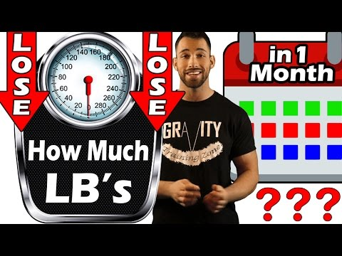 Video How Much Weight Can You Lose in a MONTH? Week? Or Day? ➠ How FAST can I Burn Belly Fat / OVERNIGHT