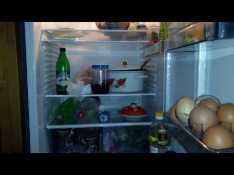 Что в моём холодильнике/ Морозилка/ Что мы едим/