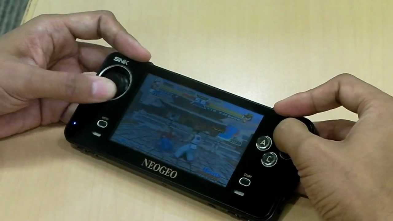 The New Neo Geo Handheld Seems Long And Clicky