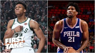 Bucks, Sixers Are The Best Teams In The East   First Take