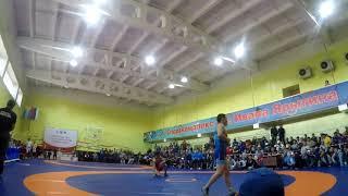 вольная борьба, финал Чемпионата СФО за золото, вес 57 кг.